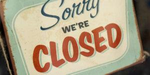 Closed Sign | NF Rechtsanwälte Graz - Immobilienrecht, Baurecht & Arbeitsrecht