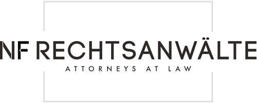 Logo in Weiss | NF Rechtsanwälte Graz - Immobilienrecht, Baurecht & Arbeitsrecht